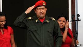 هوگو چاوز، رئیس جمهور ونزوئلا
