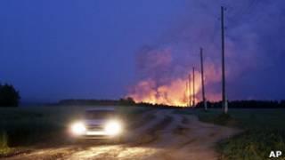 Пожар на арсенале в Удмуртии