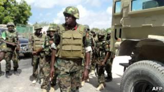 Ingabo za Amisom zitera inkunga leta ya Somalia