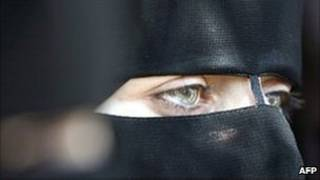 یک زن طرفدار حماس