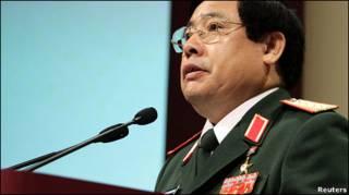Đại tướng Phùng Quang Thanh tại Hội nghị Thượng đỉnh An ninh Á Châu tại Singapore hôm 5/6/2011