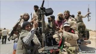 مخالفان مسلح در لیبی