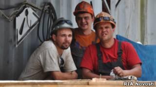 Строители в Сочи
