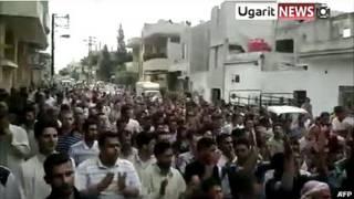 تظاهرات در حماة