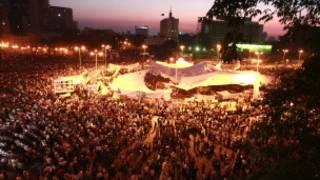 متظاهرون في قلب القاهرة