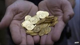 گنج طلا در فرانسه