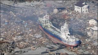 जापान सुनामी मार्च (फ़ाइल)