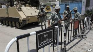قوات الجيش المصري في السويس