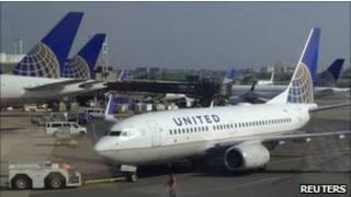 Avião da United Airlines (Reuters)