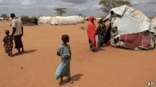 Inkambi y'impunzi ya Dadaab muri Kenya