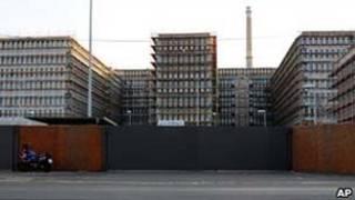 Instalações do futuro prédio do serviço secreto alemão/AP