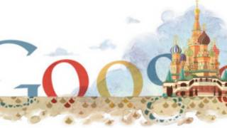 Временный логотип Google