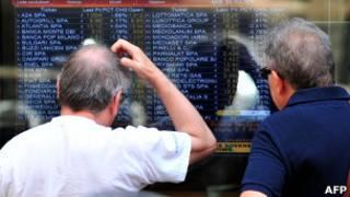Bolsa de valores de Italia