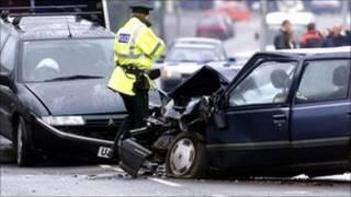 تصادف جاده ای