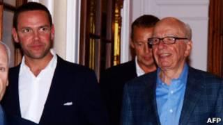 روپرت مرداک و جیمز مرداک