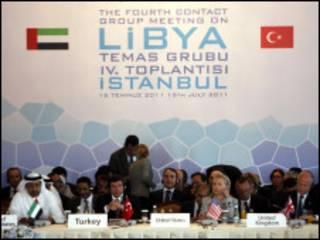 लीबिया संपर्क समूह बैठक(इसतंबुल)