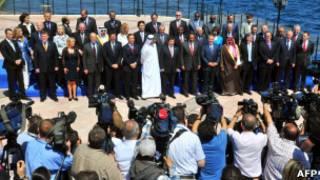 نمایندگان کشورهای عضو گروه تماس لیبی