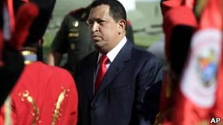 Chávez recebe Ollanta Humala em Caracas. Foto: AP