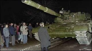 Радянські війська у Вільнюсі 1991 року
