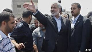 Ismael Haniyah. Foto: AFP