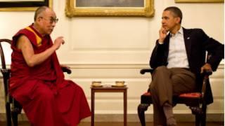 Dalai Lama e Obama. Foto: Casa Branca