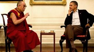 ओबामा र दलाई लामा