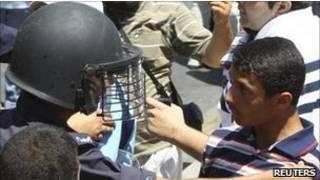 شرطة مكافحة الشغب في الأردن