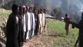 اعدام پلیس پاکستان توسط طالبان