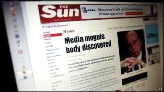 《太阳报》网站被黑