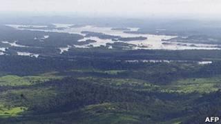 Rio Xingu, no Pará (AFP)