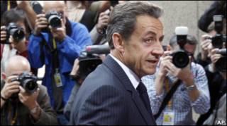Shugaba Nicolas Sarkozy na Faransa