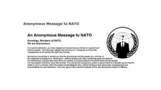 Заявление группы хакеров Anonymous