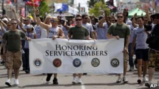 Активисты защиты прав геев в армии