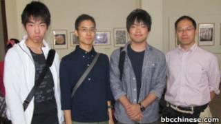 福島縣立高校學生和老師