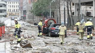 انفجار در اسلو