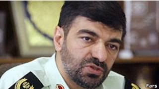 جانشین فرمانده نیروی انتظامی ایران