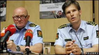 Porta-vozes da polícia da Noruega