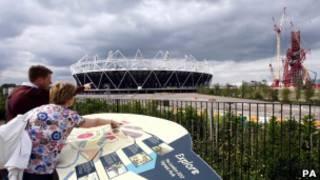 Estádio Olímpico de Londres. PA