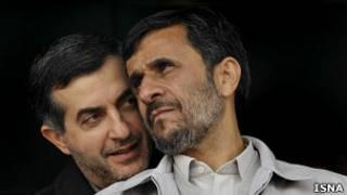 مشایی - احمدی نژاد
