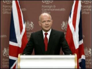 William Hague, Sakataren harkokin wajen Birtaniya