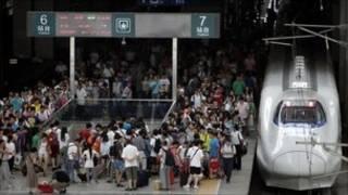चीन रेल