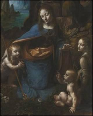 《岩间圣母》