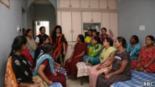 Mães de aluguel na clínica de fertilidade Akshanka, na Índia.