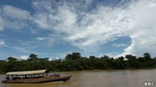 Amazônia peruana. BBC