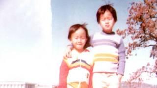 Kim Huỳnh và anh trai