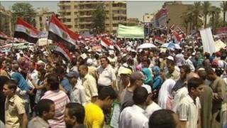 Imyigaragambyo ku rubuga rwa Tahrir