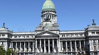 Capitolio en Buenos Aires