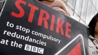 bbc記者罷工