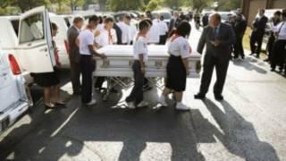 Lễ tang cho nạn nhân thảm sát Texas