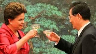 Presidente Dilma e o presidente chinês Hu Jintao - Crédito: Roberto Stuckert Filho/Agência Brasil
